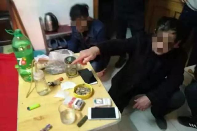 沧州打掉吸毒贩毒团伙 1人有身孕1人吸毒带着孩子