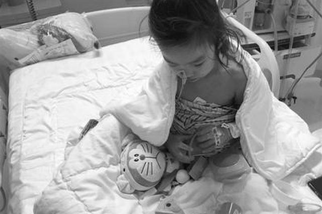 保定3岁女童18楼坠落身受重伤 住院26天闯过鬼门关