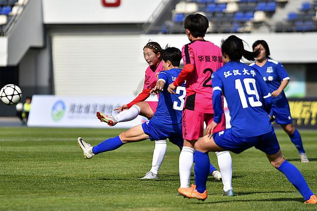 2019中国女子足球协会杯第二轮 河北女足不敌武汉