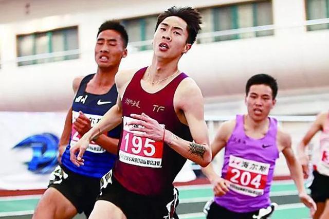 沧州小将王少杰打破尘封22年的1500米全国纪录