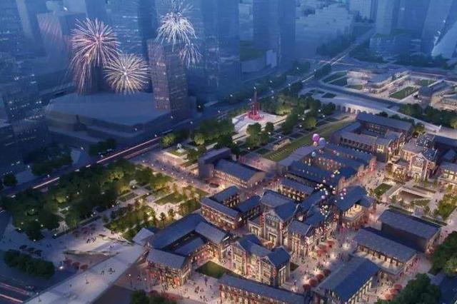 石家庄中央商务区建设拉开帷幕 打造城市新地标