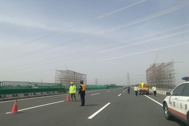 石家庄建设大街(光华路以北)恢复双向四车道通行