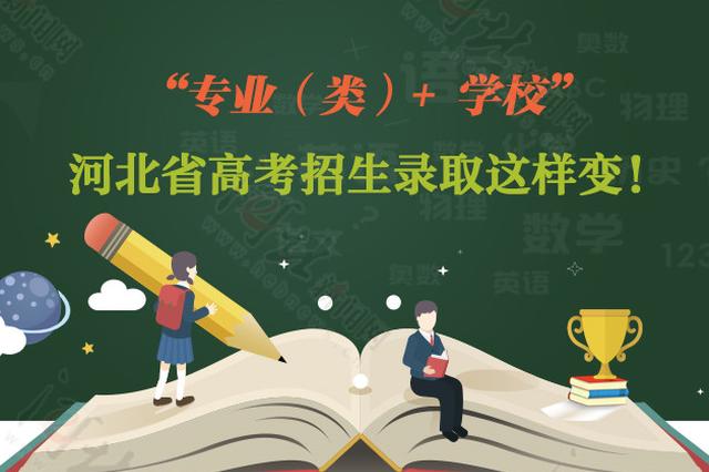 """""""专业(类)+ 学校"""" 河北省高考招生录取这样变"""