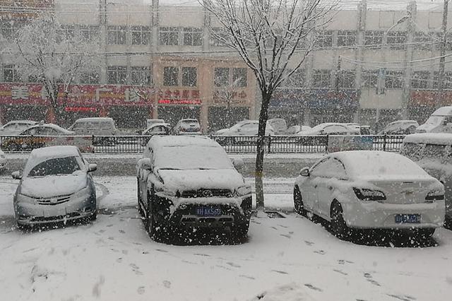 未来3天河北多地有雨气温普降 张家口承德昨日飘雪