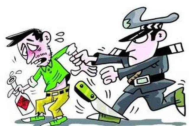 迁西男子持刀扬言进幼儿园 警方迅速将其控制
