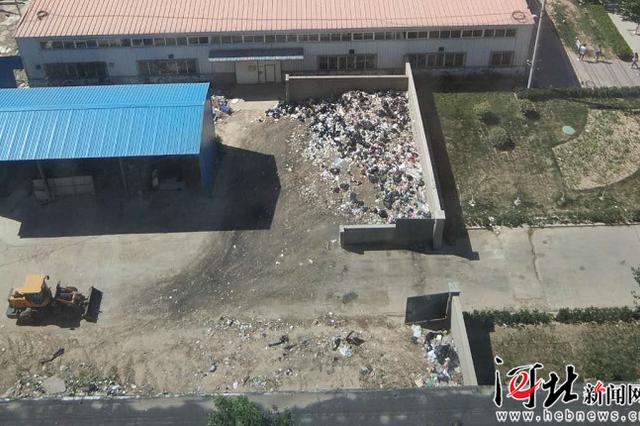 石家庄一高校厨余垃圾场馊臭熏天 邻居叫苦一年多