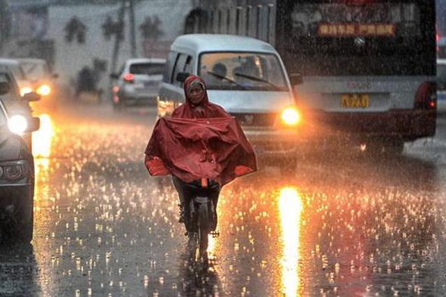 未来3天河北多地有雷雨或大雨 局地有冰雹大风暴雨