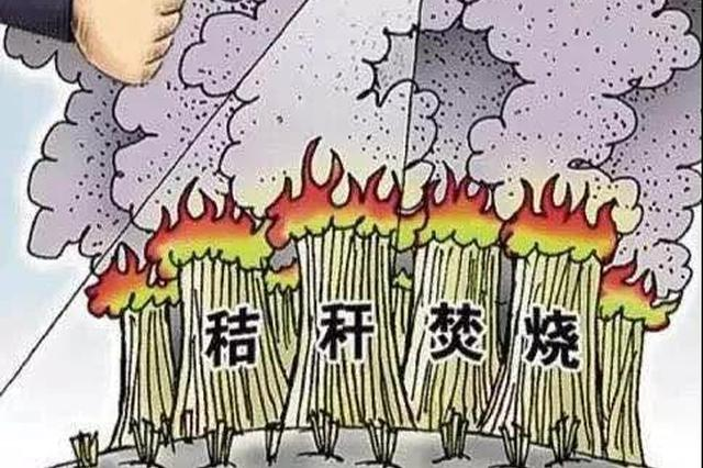 """河北省启用""""蓝天工程""""智能监控 禁止露天焚烧"""