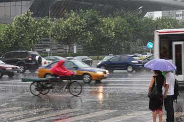 今天河北雷雨覆盖全省 局地有强对流天气