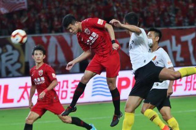 中超:上港主场3-0拿下华夏 华夏继续排在第12位