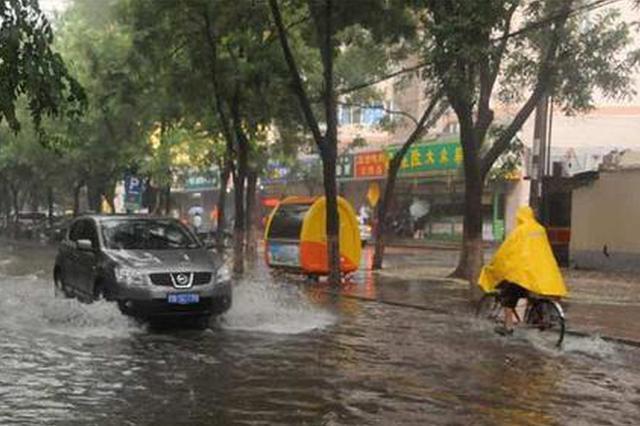 河北多地有中到大雨局地暴雨 未来3天天气闷热