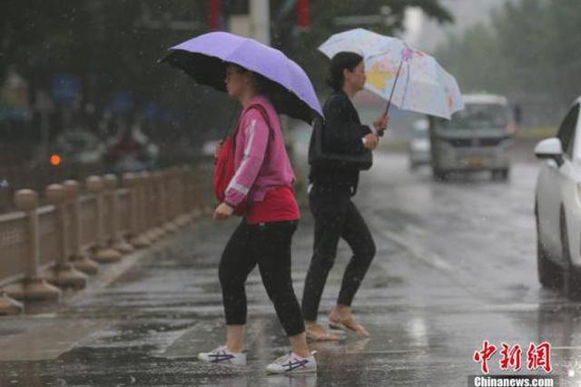 河北山东及四川盆地等地未来三天有较强降水