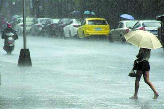 周末两天河北强降雨持续 明起东部风力大