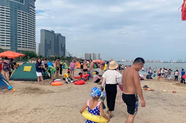秦皇岛:台风未造成人员伤亡 临海景区恢复开放