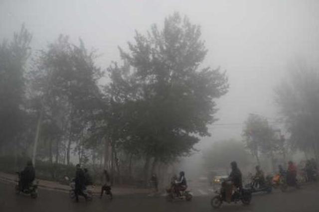 河北发布大雾黄色预警信号 降水减弱气温开始回升