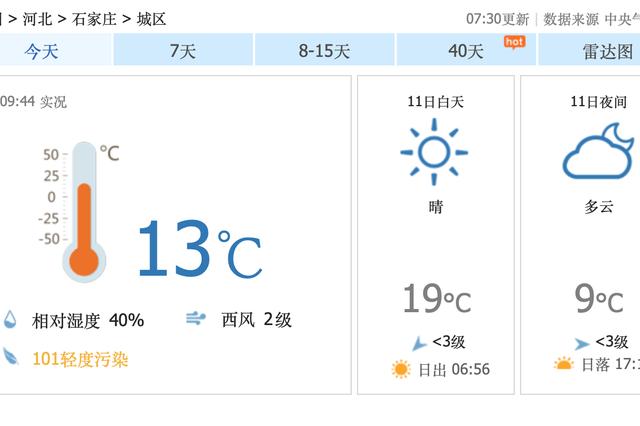 河北大风劲吹阵风7级 本周降温剧烈多地秒入冬