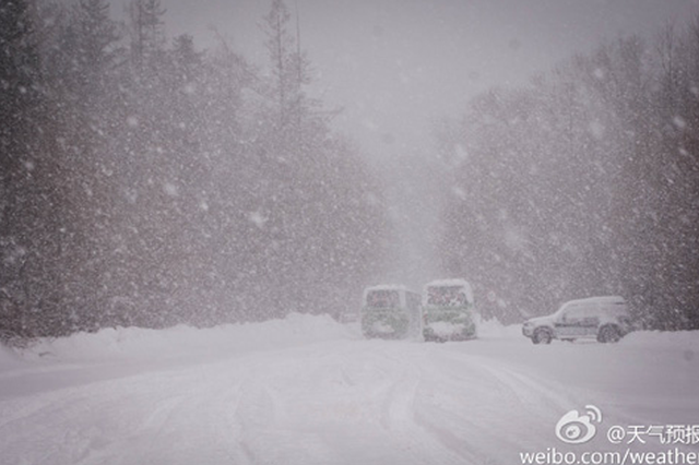 交通运输部:六省市高速路段因雪封闭 预计今日恢复通行