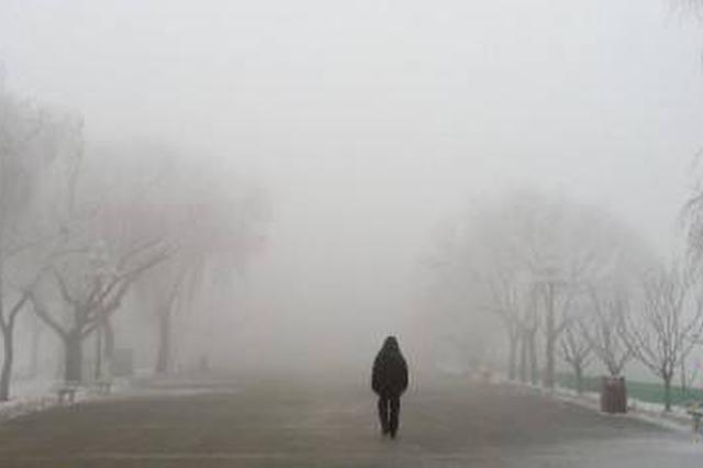 大雾黄色预警 河北湖北局地能见度不足200米