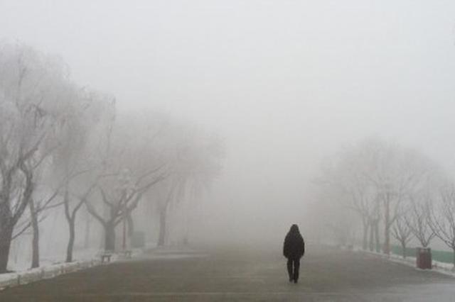 华北黄淮等地有雾和霾 青藏高原等地有较强降雪