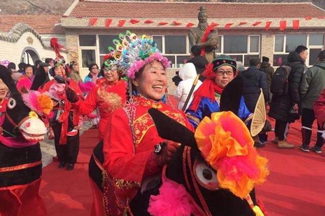 【新春走基层】河北涿鹿东窑沟村戏曲年俗迎新年