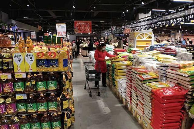 """河北:超市有货 价格不贵 托稳百姓的""""菜篮子"""""""
