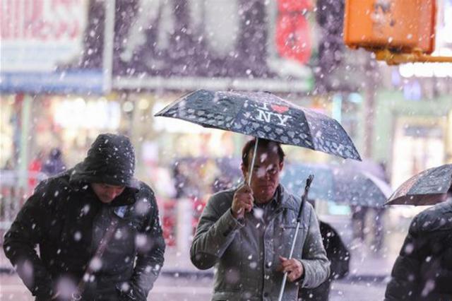 黄淮至长江中下游将现雨转雪 寒潮继续影响大部地区