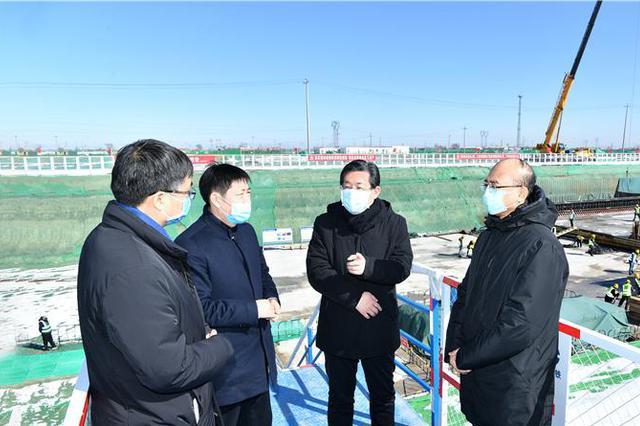 王东峰在雄安新区调研检查:奋力夺取疫情防控和新区建设发展