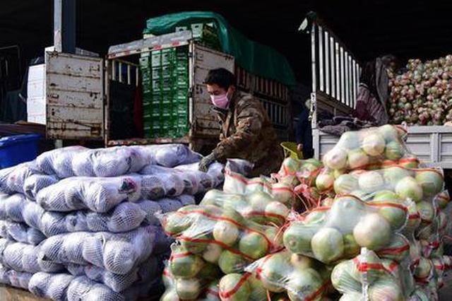 河北:多举措加强疫情防控期间农产品供应保障