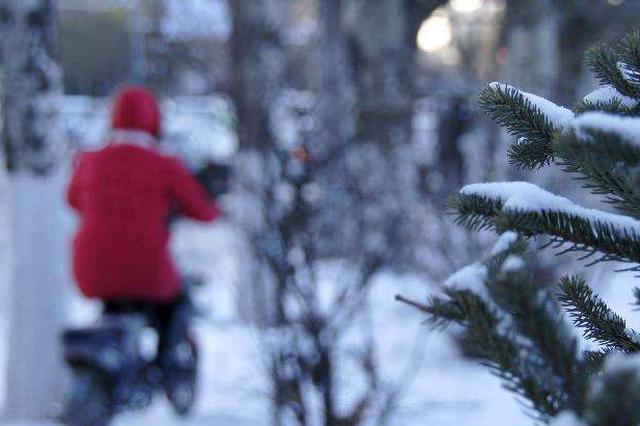 今明两天河北全省有雨雪 气温降至近期低点