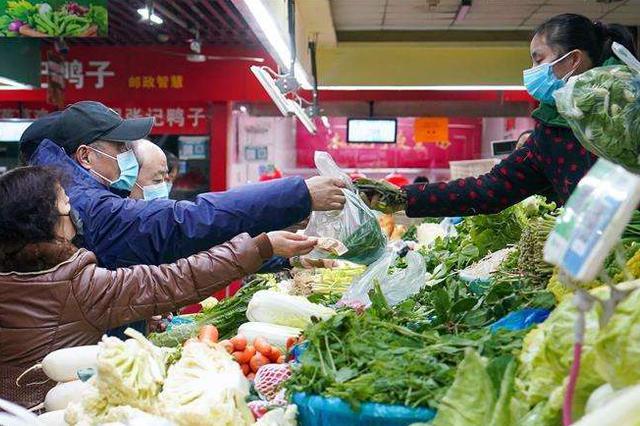 石家庄81家农批和农贸市场正常营业