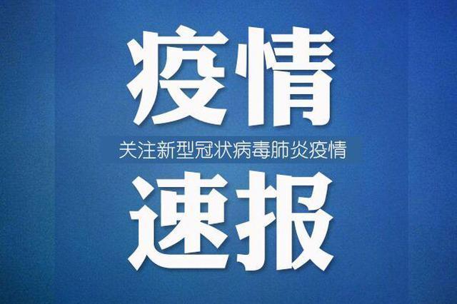 4月1日河北报告新增境外输入新冠肺炎确诊病例2例