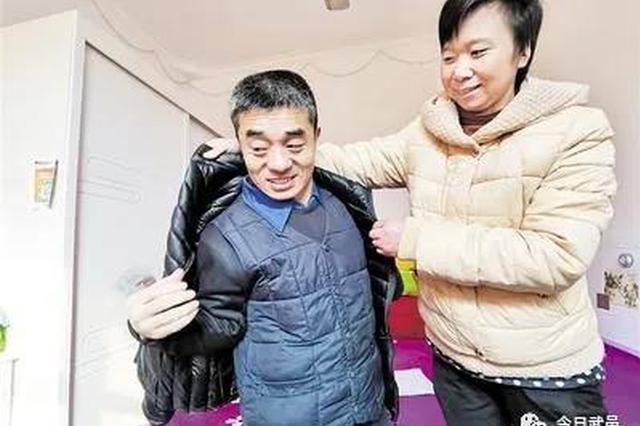 """脱贫脱单,还评上了""""道德模范"""" ——武邑残疾人李兵涛好事连"""