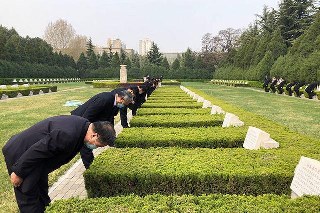 华北军区烈士陵园:清明公祭取消,鼓励网上祭扫