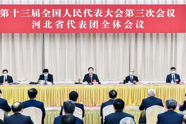 河北省代表团召开全体会议