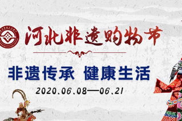 河北省将举办非遗购物节 促进社会消费助力抗疫