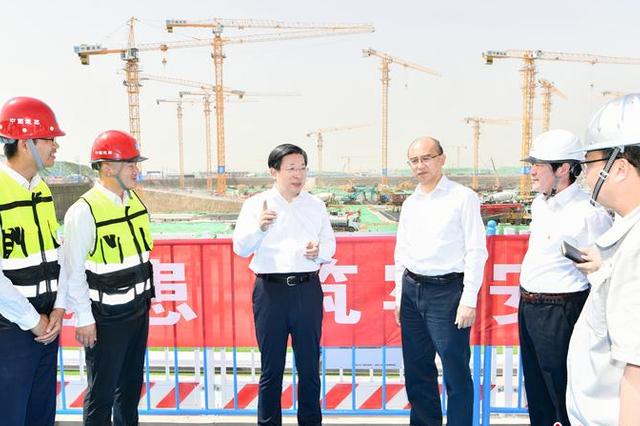 王东峰到雄安新区调研检查