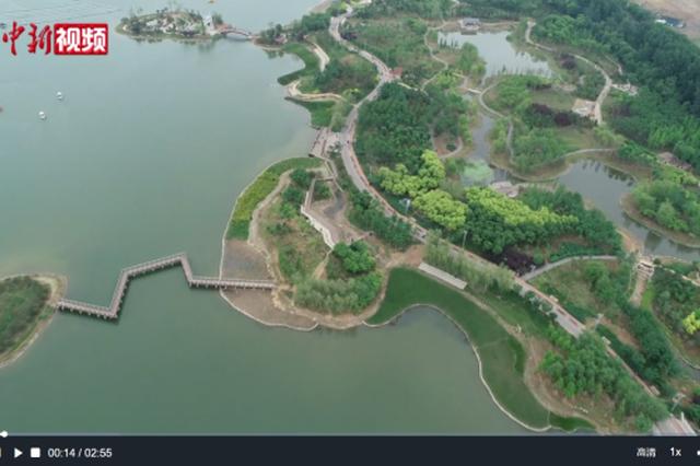 石家庄龙泉湖公园:垃圾填埋场变身生态景区