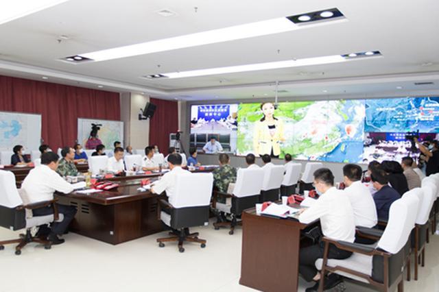 河北省举行2020年大清河流域超标准洪水抢险救援实战演练