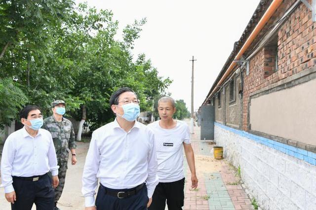 王东峰:扎实推进防灾减灾救灾体系建设 确保人民群众生命和财