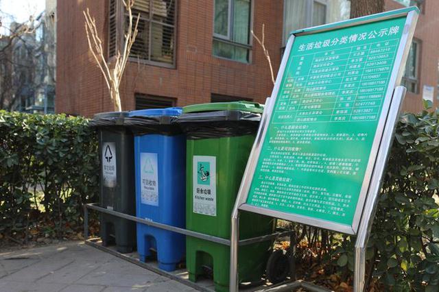河北立法推动生活垃圾分类 明确实行管理责任人制度