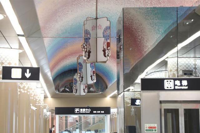 石家庄地铁2号线一期工程开通运营