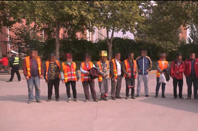 6人面包车塞进16人!河北通报10月份典型交通违法案例
