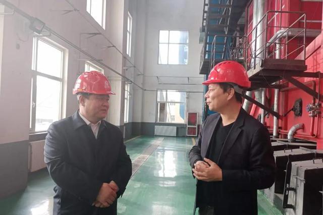 武邑县长王成宗就冬季清洁取暖工作进行专题调研