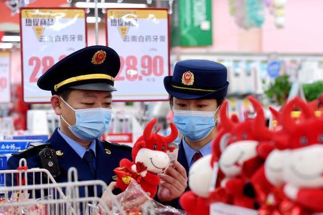 石家庄:净化市场迎新春