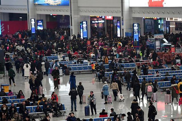 春运今结束,40天预计发送旅客8.7亿人次,比去年同期降四成