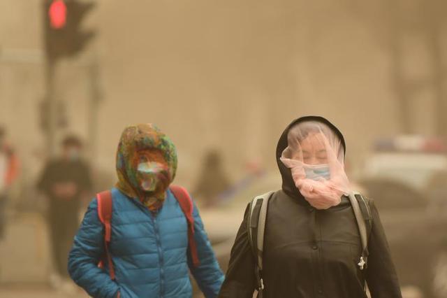 本周北方将有两轮沙尘过程,后一场显著影响京津冀