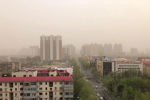 风+土 雨+泥 河北再次迎来沙尘天气