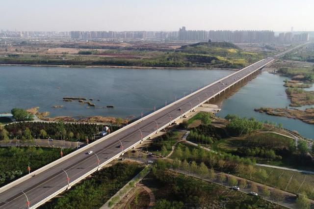 石家庄:滹沱河生态修复三期工程加紧推进