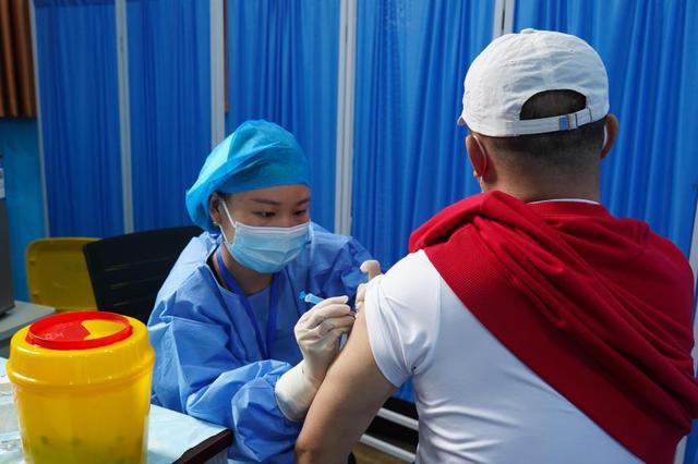 石家庄鹿泉区累计接种新冠疫苗72308剂次