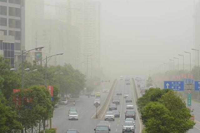 大风沙尘已抵达河北张家口 预计6日11时左右影响北京